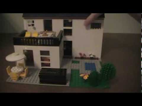Custom Build Lego One Bedroom One Bathroom Two Story House