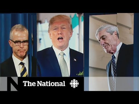 Donald Trump fired Andrew McCabe and Robert Mueller might be next