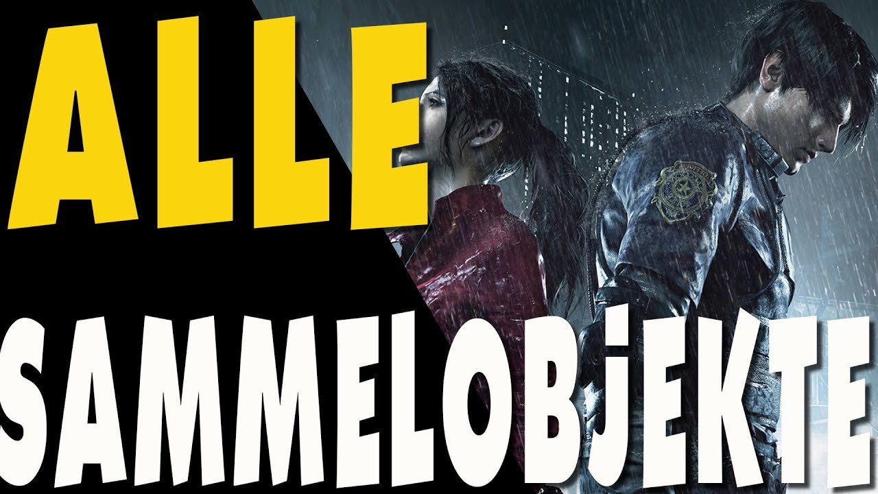 Resident Evil 2 Remake Guide Alle Sammelobjekte All Collectibles