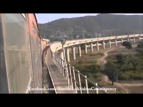 Udhampur to Katra Railway Line Completed (UPA Government Project)
