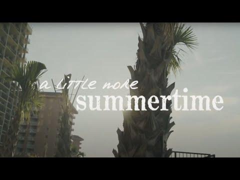 Jason Aldean - A Little More Summertime (Lyric Video)