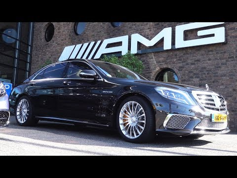 Mercedes S65 AMG - V12 S Class BRUTAL Drive Review + Sound A
