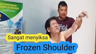 Cara Massage  Frozen Shoulder Parah.
