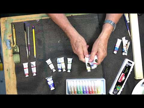 Basic Materials Needed for Watercolor Painting
