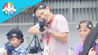 Gambar cover Family Fun with Sports Singapore: the 28th SEA Games Carnival