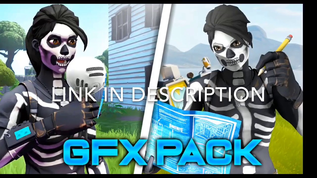 3D SFM THUMBNAIL GFX PACK | FORTNITE PINGS AND MODELS (iOS