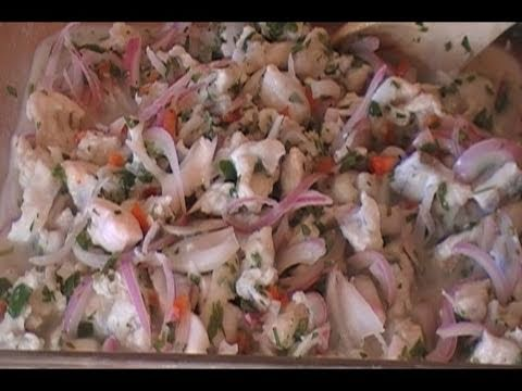 How To Make White Fish Ceviche
