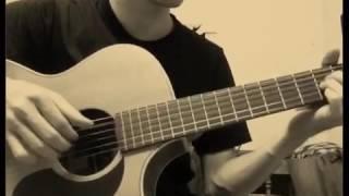 trouble is a friend-lenka guitar fingerstyle cover