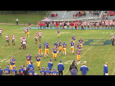 2017 Blacksburg High School Football: Lord Botetourt vs Blacksburg