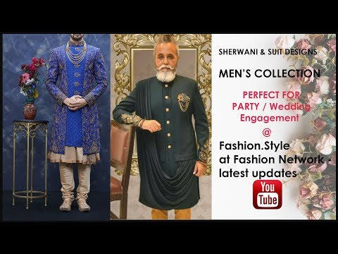 Latest Sherwani, Suit, INDOWESTERN Designs || INDIAN FASHION for Men & KID || Fashion.Style 2019