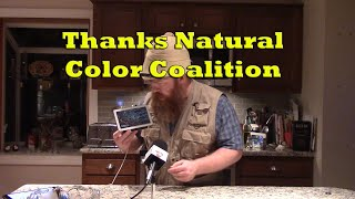 Thanks Natural Color Coalition!
