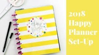 2018 Schaffen 365 Glücklich Planner® Set Up [Wie + Tutorial]