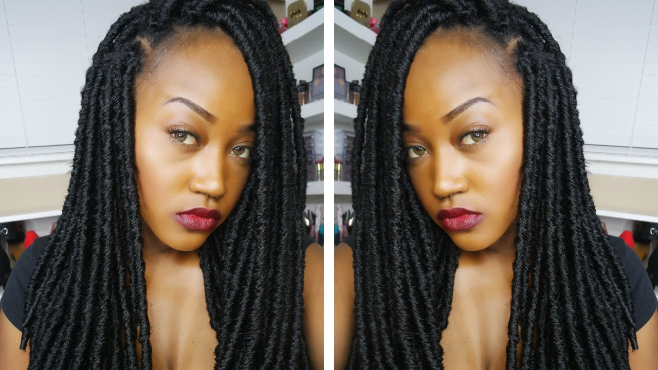 Do it yourself faux loc bomba dreads youtube solutioingenieria Choice Image