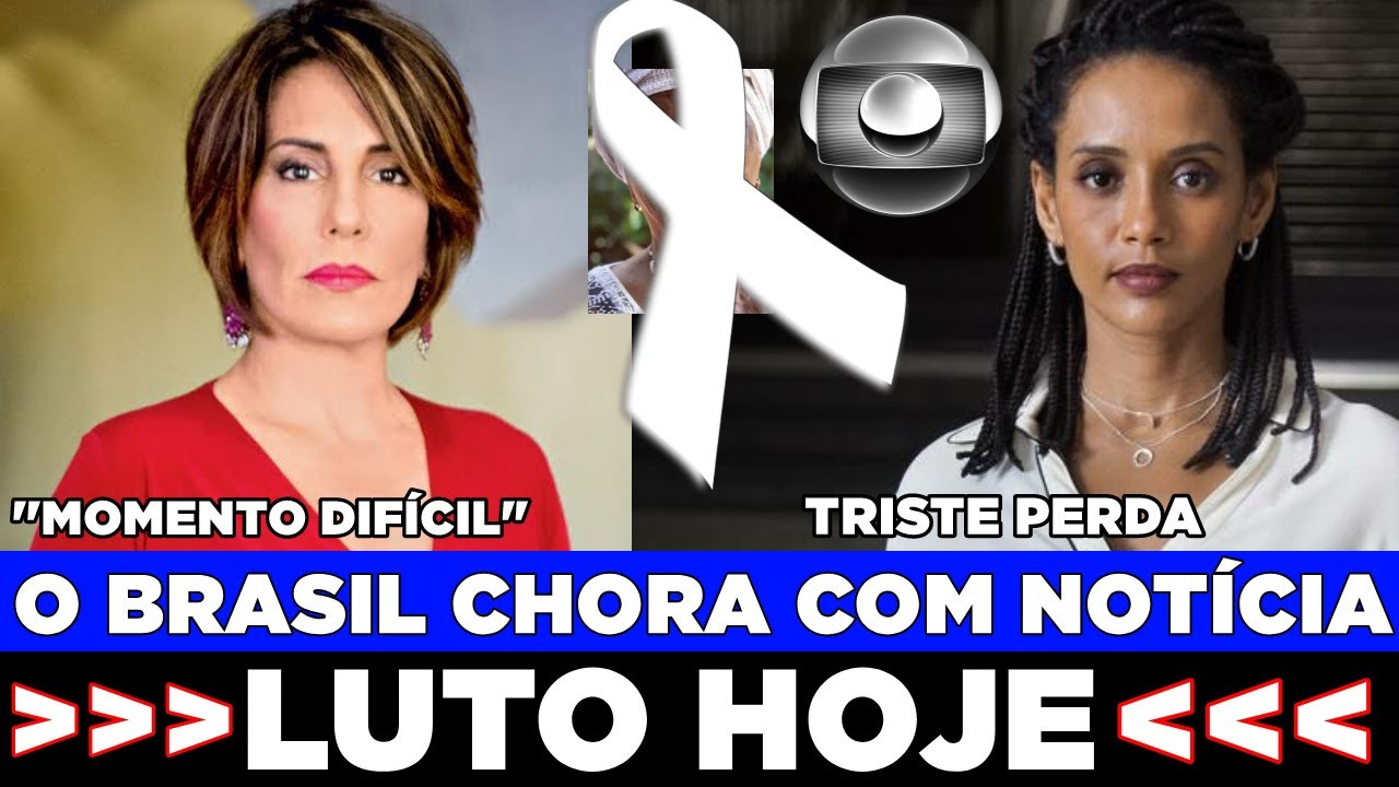 BRASIL CHORA JUNTO: PERDA DE ATRIZ ABALA O PAÍS, THAÍS ARAÚJO LAMENTA, GLÓRIA PIRES RELEMBRA..