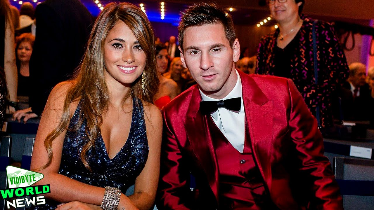 Image result for messi and roccuzzo