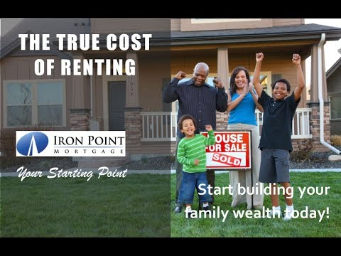 The True Cost to Your Family Wealth when Renting