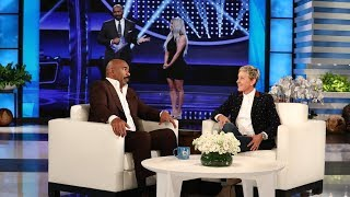 Steve Harvey Dishes on the Kardashian/West