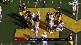 SMU at Michigan: Top 3 Plays of First Quarter | Big Ten Football