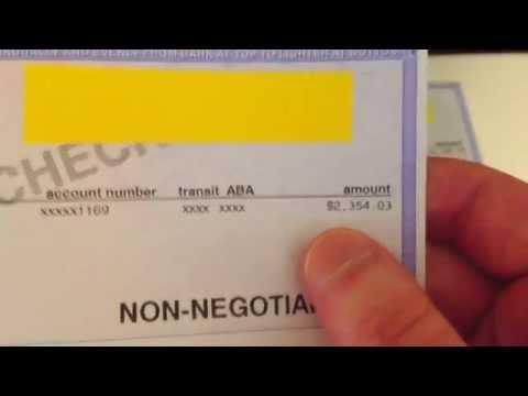 Aircraft Mechanic Salary - Aircraft Mechanic Shows His Paycheck