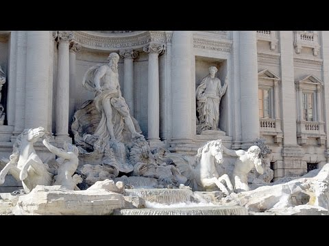 Fountain of Trevi and Other Fountains Rome Italy