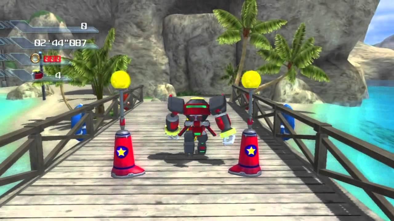 Sonic The Hedgehog 2006 Shadow Wave Ocean Gameplay Youtube