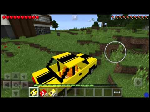 Mods Car for Minecraft Pocket Edition - Installation Guide