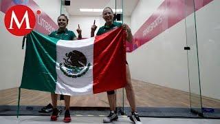 Paola Longoria y Samantha Salas logran oro en dobles de raquetbol de Lima 2019