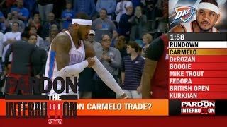 Pardon the Interruption and Kevin Pelton react to Carmelo Anthony being traded from Thunder   ESPN