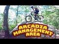Mountain Biking Arcadia Management Area   Exeter, Rhode Island