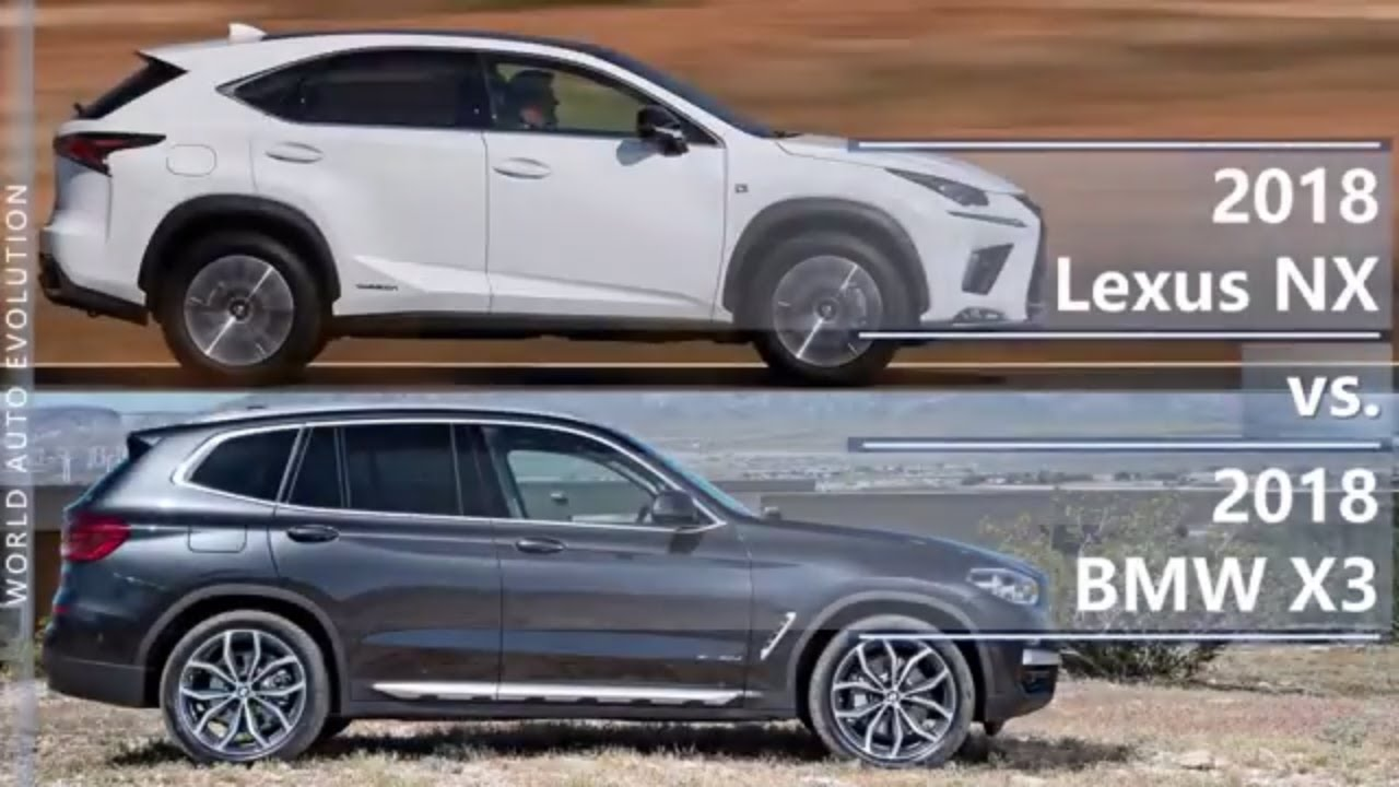 2018 Lexus Nx Vs Bmw X3 Technical Comparison