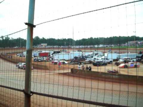 Earl Pearson Jr. and Jeremy Payne at North Georgia Speedway