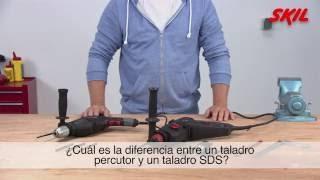 ¿Cuál es la diferencia entre un taladro percutor y un martillo?