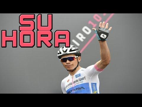 MIGUEL LOPEZ CON HAMBRE DE ETAPA/ Giro de Italia 2018 - Etapa 17