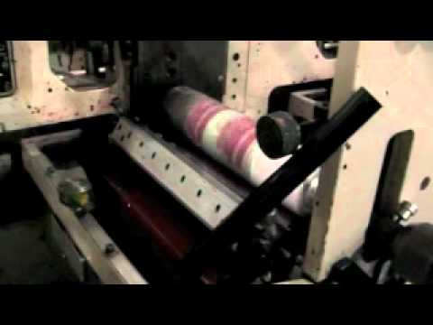 Inside a Label Manufacturer - Custom Adhesive Roll Label Printing