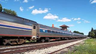 Amtrak Lake Shore Limited Reroute with the Viewliner Diner!