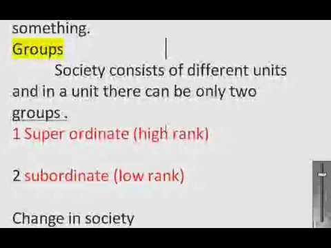 ralf dahrendorf conflict theory.wmv