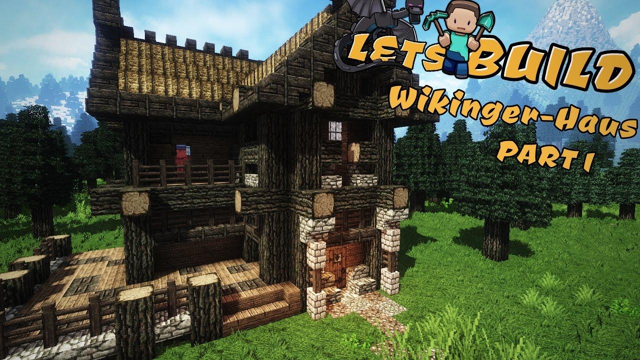 Wikingerhaus Bauen Minecraft Tutorial YouTube - Minecraft wikinger hauser