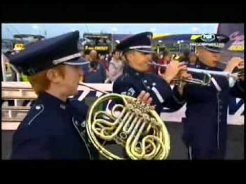 Star Spangled Banner USAF Heritage Of America Band 04-28-12