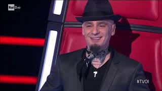 The Voice Of Italy 2018 - Mirco Pio Coniglio - BLIND AUDITION