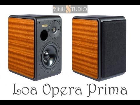 Đánh giá chi tiết loa Bookshelf Opera Prima 2015 sản xuất tại Italia