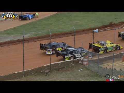 Super Late Model Heat Races @ 411 Motor Speedway (12-30-17)