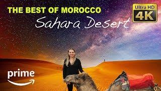 DIY Budget Travel (4K) - Morocco Merzouga Sahara Desert: Marrakech to Fes