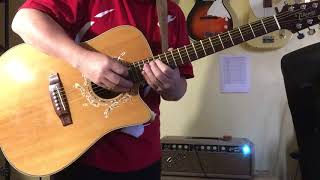 takamine eg530sc acoustic guitar demo