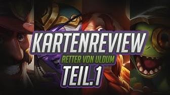 KARTENREVIEW TEIL1 | Retter von Uldum | Hearthstone | iamThanh