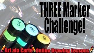 First 3 marker Challenge
