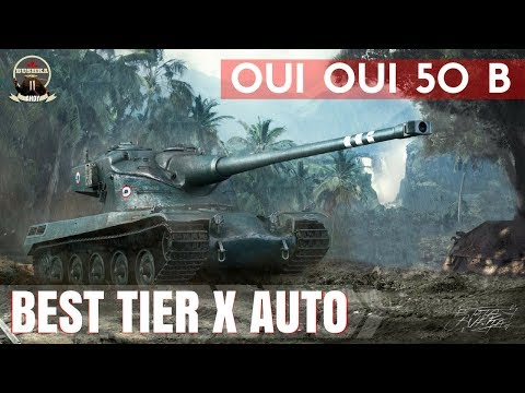 AMX 50B Why its the Best Tier X AutoLoader World of Tanks Blitz