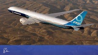 Boeing 777X First Flight