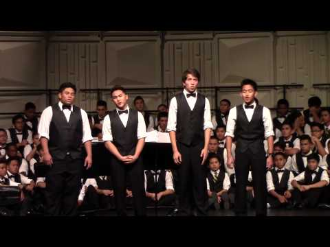 Christmas Chopsticks/Tiny Little Baby by ACHS Barbershop Quartet