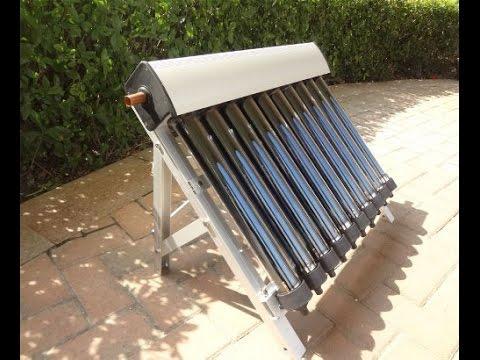 Vakuum Rohrenkollektoren Solaranlage Komplettpaket Solarkollektor
