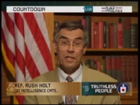 Congressman Rush Holt discusses whether the CIA misled Congress on Countdown with Keith Olbermann
